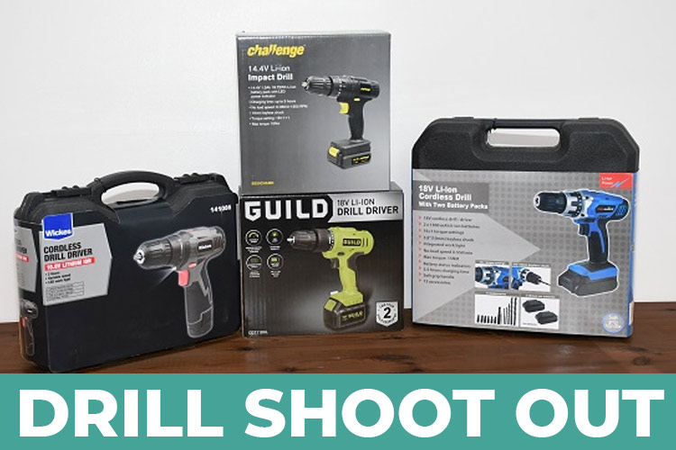 Budget drills a bargain? Getting good value for under £40