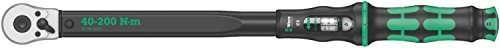 Wera Click Torque C 3 Adjustable Torque Wrench, 1/2″ Square Drive, 40 – 200 Nm, 05075622001