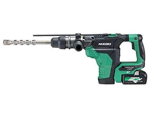 HiKOKI SDS Plus Brushless Rotary Hammer 18/36V 2 x 5.0/2.5Ah Li-ion