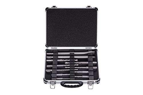 Bosch Professional Bosch 2608578765 11Pcs SDS+ Drill Bit Chisel Set in Aluminium Case