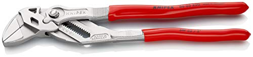 KNIPEX Pliers Wrench pliers and a wrench in a single tool chrome plated plastic coated 250 mm