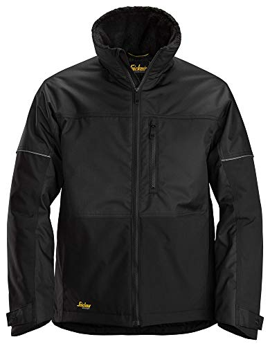 Snickers Workwear Men's Insulated Jacket, Black, XL