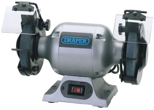 Draper 29620 150 mm 230-Volt 370-Watt 3,000 rpm Heavy-Duty Bench Grinder