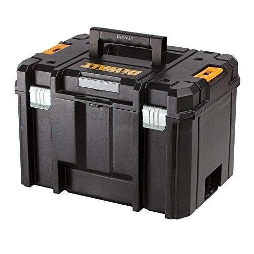 Dewalt DWST1-71195 TSTAK VI Deep Tool Storage Case Heavy Duty 23L – No Tray, Black