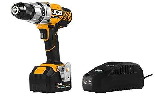 JCB 18V Cordless Drill Driver Power Tool Set