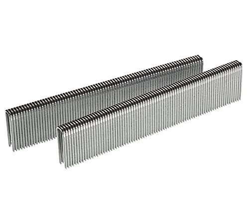 Senco L11HAB 18 Gauge by 1/4-inch Crown by 3/4-inch Leg Electro Galvanized Staples (5,000 per Box)