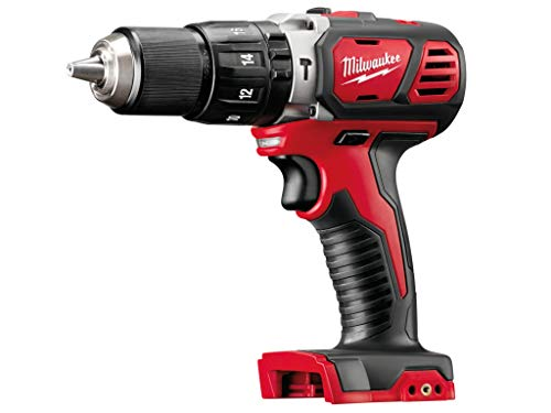 Milwaukee Cordless Hammer Drill, 18 V, Red