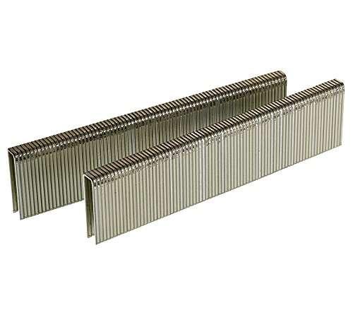 Senco L12BAB 18 Gauge by 1/4-inch Crown by 7/8-inch Leg Electro Galvanized Staples (5,000 per Box)