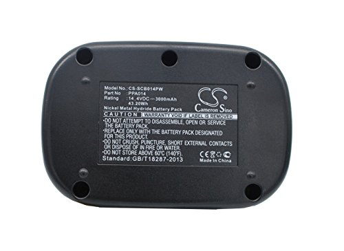CS-SCB014PW Battery 3000mAh compatible with [SENCO] DS202, VB0023, VB0034 replaces PPA014