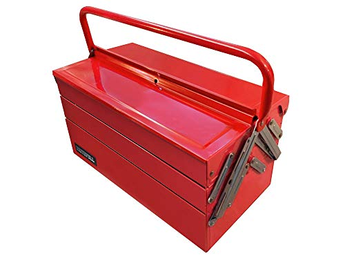 Faithfull TBC517 Metal Cantilever Tool Box 17-inch (5 Tray)