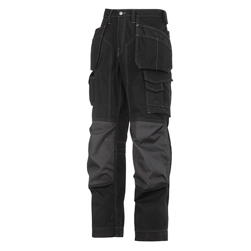 Snickers 32230404254 Size 254 Floor layer Trousers – Black
