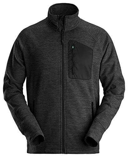 Snickers 8042 Flexiwork Work Jacket – Black – Large