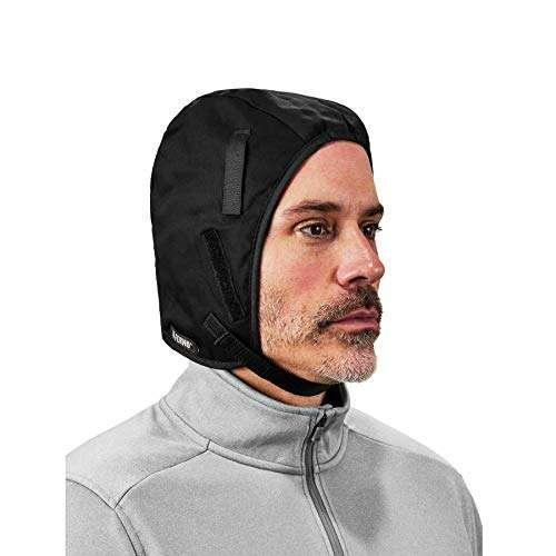 Winter Hard Hat Liner, Cotton Shell, Thermal Fleece Lined, Chin Length, Ergodyne N-Ferno 6850