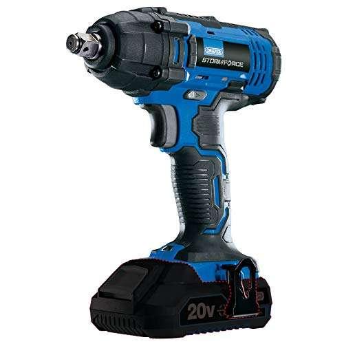 Draper 89519 Storm Force 20V 1/2″ Square Drive Impact Wrench-Bare, Blue