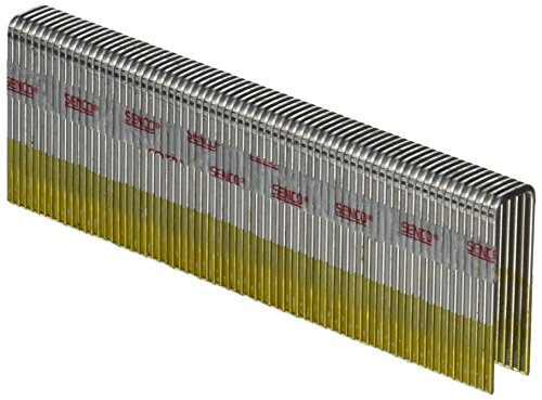 Senco N16BAB 16 Gauge by 7/16-inch Crown by 1-3/8 inch Length Electro Galvanized Staples (10,000 per Box)
