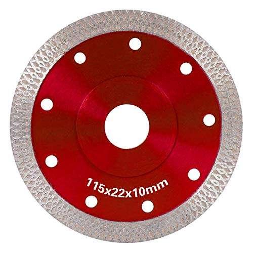 WIFUN Diamond Saw Blade Cutting Disc, 105mm External Diameter Thin Turbo Saw Blade Cutting Disc for Cutting Ceramic Or Porcelain Tile