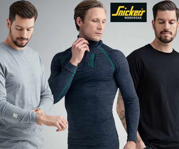 Snickers Workwear sustainable Merino wool clothing