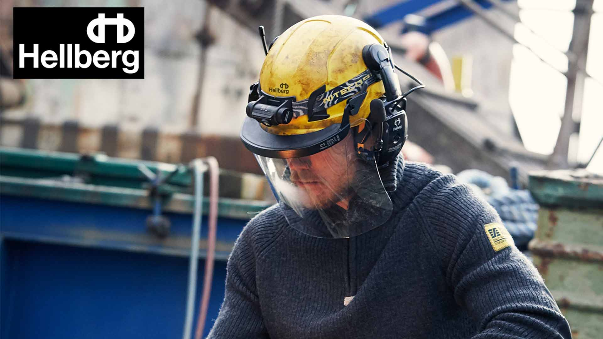 Top quality face protection from Hellberg Safety