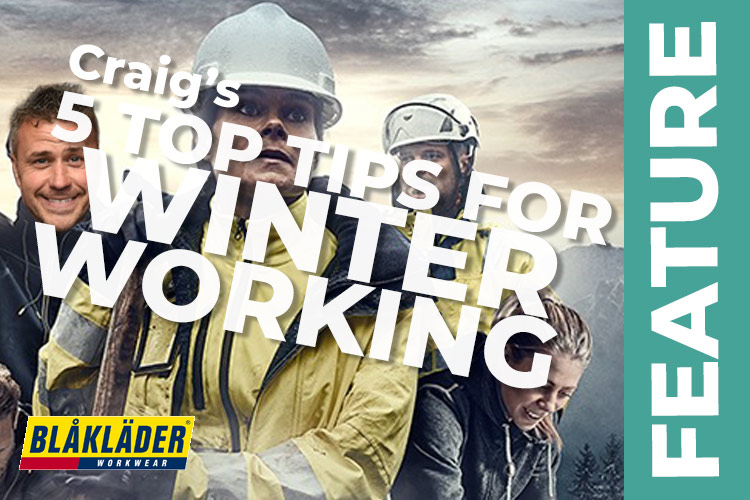 My top five tips for safe working this winter Craig Phillips February 2016