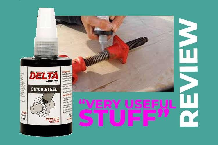 Delta Quick Steel Repair and Retain – A Paste Repair for Metal Parts