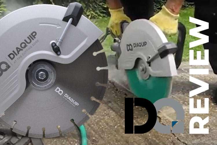 Diaquip 350mm Electric Disc Cutter