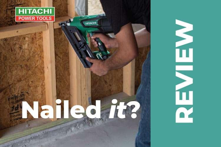 Hitachi Cordless Framing Nailer