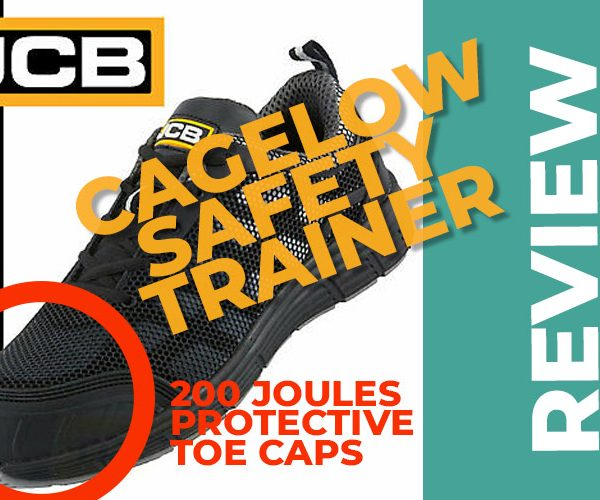JCB Cagelow Safety Trainers The Comfort of Trainers with safety Built-in