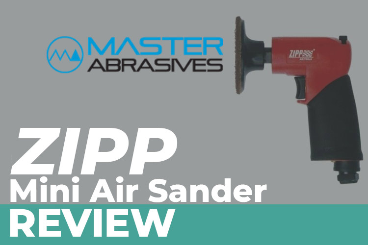 ZIPP Mini Air Sander From Master Abrasives – Dinky Sanding with Fine Control
