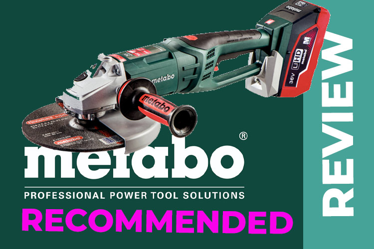 The Metabo WPB 36 LTX BL230 – A 36v Cordless Disc Cutter to You and Me!