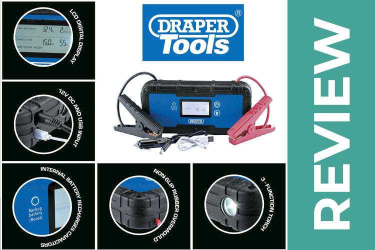 Draper Tools Capacitor Jump Start Review