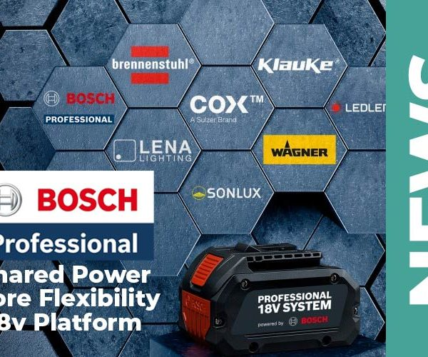 Bosh Professional – 18 V to power more than what you'd think