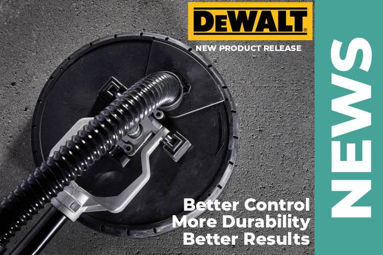 Product News – DEWALT® Releases Corded Drywall Sander