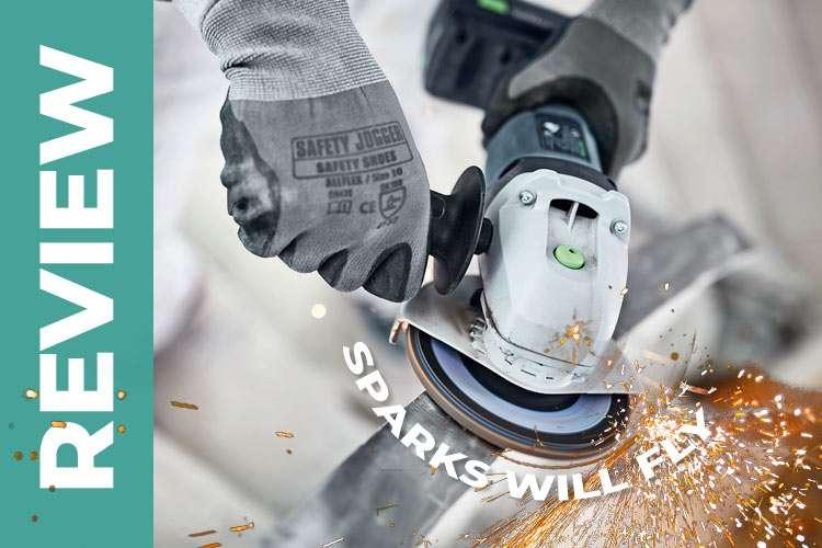 Festool AGC 18 cordless angle grinder: Compact, tough, durable?