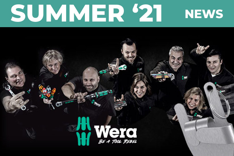 Wera Brings the Noise for Summer 2021 'Rock On Rebels'