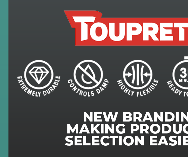 Toupret unveils new branding – making it easier for professionals to find the right filler