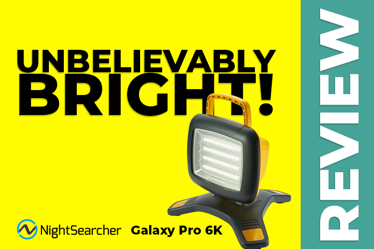NightSearcher Galaxy Pro 6K – Review – Rechargeable Work Light