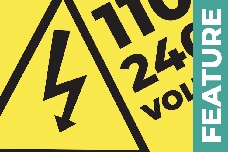 The difference between 240v and 110v power tools