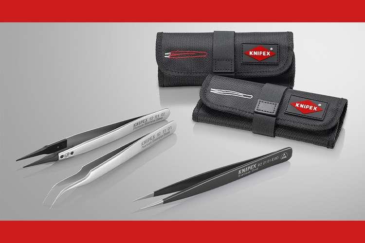 KNIPEX launches range of tweezers